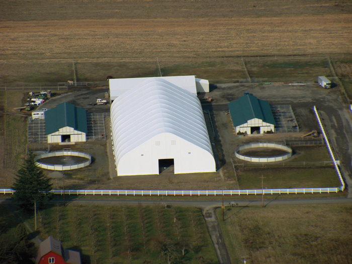 Fabric Building|Covered Structure|Commercial Riding Arena