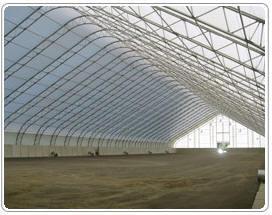 Flat Grain Storage Structures