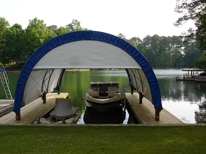 06 Boat Shelter & Boat Marine Fabric Covered Buildings Photos Pictures Images