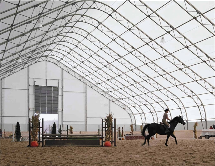 Fabric Covered Buildings Photos, Images of Equestrian Arenas