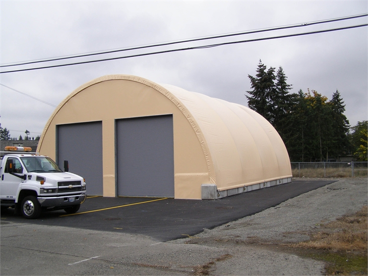 Portable Fabric Structures : Mbd fabric covered buildings photos temporary relocatable