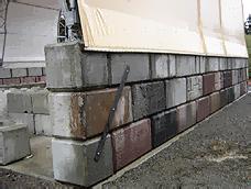 Fabric Buildings - Pre-Cast Concrete Foundations