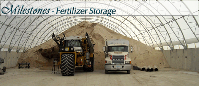 Fertilizer Storage Fabric Covered Buildings - MBD Buildings